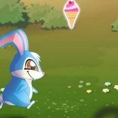 Игра Бегалка Кролик Кико ест мороженное