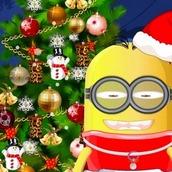 Игра Миньон и рождественская елка