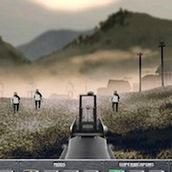 Игра Зомби стрелялка с оружием на открытой местности