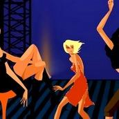 Игра Танцевальная вечеринка-девичник