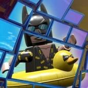 Игра Оседлай дельфина: Лего Бэтмен