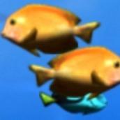 Игра Рыбка клоун хочет кушать