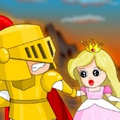 Игра Спасение принцессы на двоих