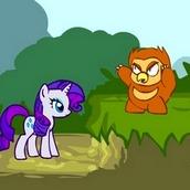 Игра Эпплджек в лесу