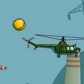 Игра Вертолёт кран