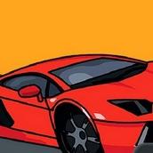 Игра Раскрась Автомобиль