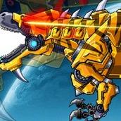 Игра Робот: тираннозавр