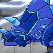 Игра Робот: трицератопс