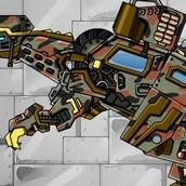Игра Робот динозавр: машина