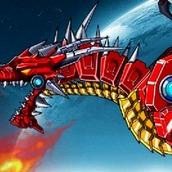 Игра Робот: огненный дракон