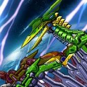 Игра Робот: птерозавр