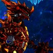 Игра Робот: дракон