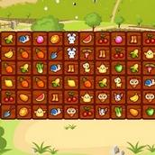 Игра Маджонг овощи и фрукты