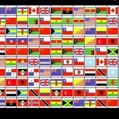 Игра Маджонг Флаги