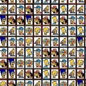 Игра Маджонг Симпсоны
