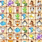 Игра Маджонг Животные