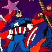Игра Мстители и Капитан Америка на денди