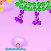 Стрелялка по шарикам пузырьками в воздухе