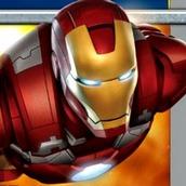 Игра Мстители Железный человек полёт
