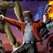Игра Мстители Стражи Галактики Битва в космосе