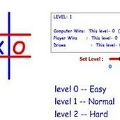 Игра Крестики нолики с обучением и уровнями