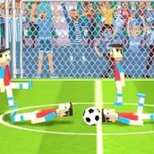 Бумажный футбол на двоих