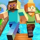 Игра Майнкрафт: Убеги от зомби