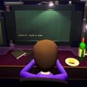Хакер симуляция взлома