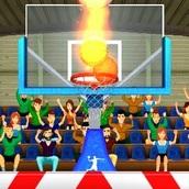 Игра Забей баскетбольный мяч