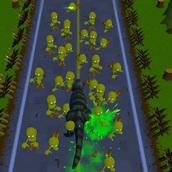 Игра Динозавр против Зомби