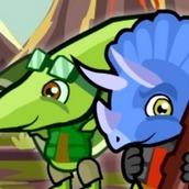 Игра Отряд динозавров 3 на двоих