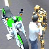 Игра Супер-робот борьба с преступностью