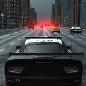 Игра Полиция: езда сквозь пробки