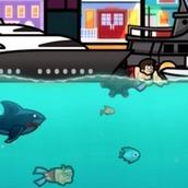 Игра Злая акула онлайн