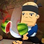 Игра Резать овощи и фрукты