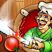 Игра Ниндзя готовит пиццу