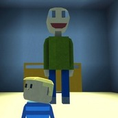 Игра Балди как Роблокс 2 в 3Д