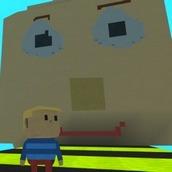 Игра Симулятор балди в стиле Роблокс