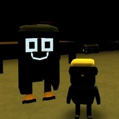 Игра Побег от МОМО: Паркур как Роблокс