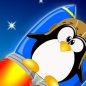 Игра Пингвиненок на ракете