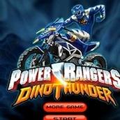 Игра Супер Рейнджеры Самураи на мотоцикле