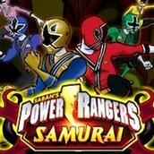 Игра Бродилка с Могучими Рейнджерами Самураями