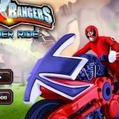 Игра Рейнджеры Cамураи 2: гонки на мотоцицкле
