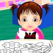 Игра Первый день в детском саду
