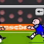 Бегающий футболист