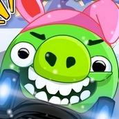 Игра Плохие свинки: Гонки