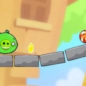 Игра Bad Piggies: Перережь Веревку