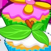 Игра Цветочные кексы