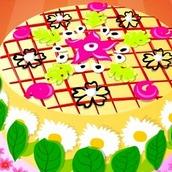 Игра Цветочный торт