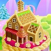 Игра Торт в форме домика